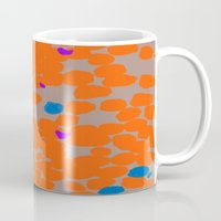 Orange Dot Mug