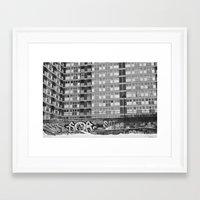 Brussels Looking Like Ea… Framed Art Print