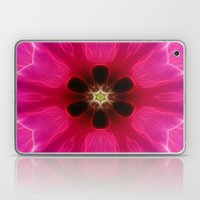 Pink Flower Abstract Laptop & iPad Skin