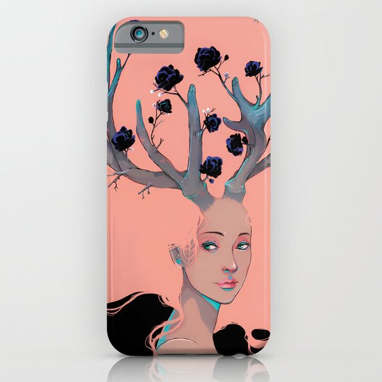Lady Cornue. iPhone & iPod Case