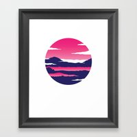 Kintamani Framed Art Print