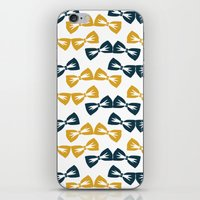 Zany Du Bow Tie Pattern iPhone & iPod Skin