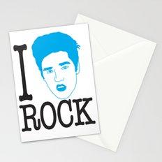 I __ Rock Stationery Cards
