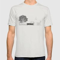 Tom's Favourite Spot —… Mens Fitted Tee Silver SMALL