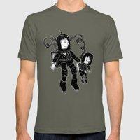 Nostalgia Espacial Mens Fitted Tee Lieutenant SMALL