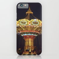iPhone & iPod Case featuring Night Spin by Young Swan Designs