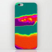 Psychedelic Hamburger iPhone & iPod Skin