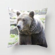 Bear 1115A Throw Pillow