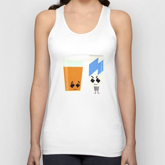 They just can't get along Unisex Tank Top