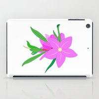 Flowers On The Wall  iPad Case