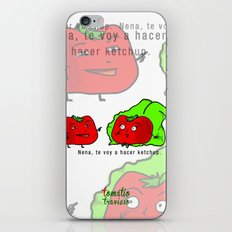 Tomatito Travieso iPhone & iPod Skin