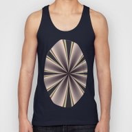Fractal Pinch In BMAP02 Unisex Tank Top