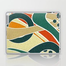 Abstraction. Curves and bends. Laptop & iPad Skin