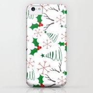 Christmas Pattern iPhone 5c Slim Case