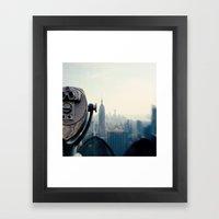 Empire State Building NY… Framed Art Print