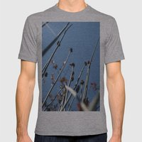 Skyscrapers Reach Mens Fitted Tee Athletic Grey SMALL