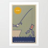 Like Fishing Art Print