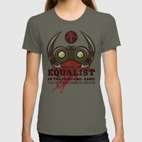Equalist in Training Womens Fitted Tee Lieutenant SMALL