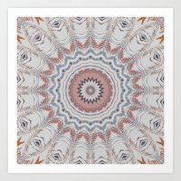 Dreamcatcher Earth Art Print