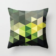 Another Touch of Green Throw Pillow