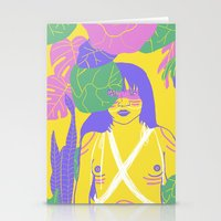 Brazilian Native Girl Stationery Cards