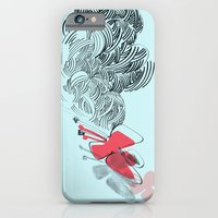iPhone & iPod Case featuring in red by ana javier