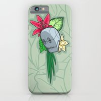 iPhone & iPod Case featuring Flowery Robot by Maria