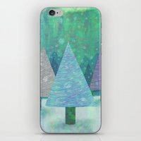 Snow And Trees iPhone & iPod Skin