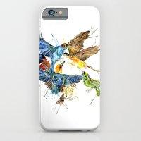 iPhone & iPod Case featuring Birds Galore by Meg Ashford