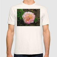 Rose Mens Fitted Tee Natural SMALL