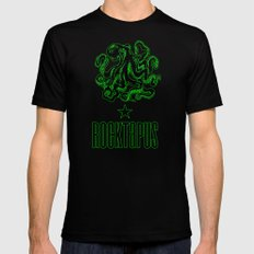ROCTAPUS Mens Fitted Tee Black SMALL