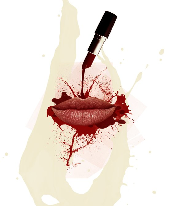 RED LIPS!  Canvas Print