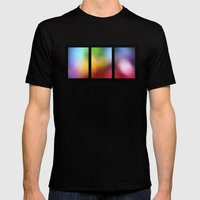Tryptic Mens Fitted Tee Black SMALL