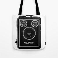 Box Brownie Tote Bag