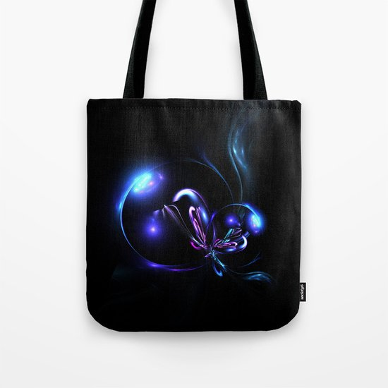 Flower Dancing in the Moonlight I Tote Bag