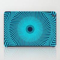 Circular Optical Illusion iPad Case
