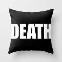 Death Throw Pillow