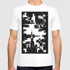 Urban SMALL White Mens Fitted Tee