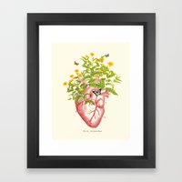 My Foolish Heart Framed Art Print