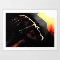The Hero Lachlan Deserve… Art Print