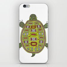 Tiled turtle iPhone & iPod Skin