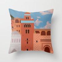 Moroccan Arch Throw Pillow