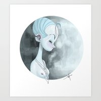 Moon Guardian Art Print