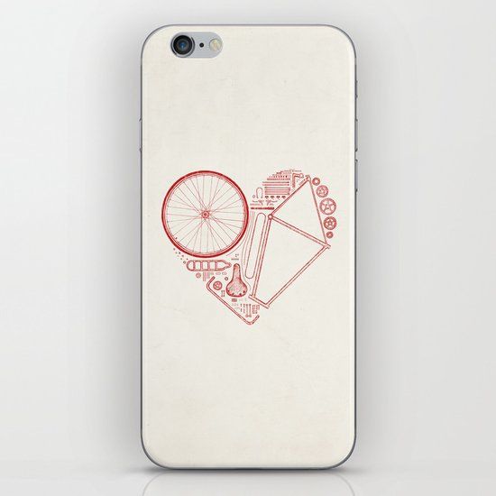 Love Bike iPhone & iPod Skin
