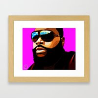 Rozay Framed Art Print