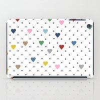 Pin Point Hearts iPad Case