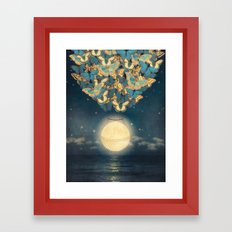 The Rising Moon  Framed Art Print