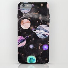 Marble Galaxy iPhone 6s Plus Tough Case