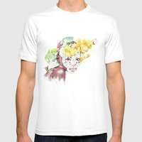 Etiopia Mens Fitted Tee White SMALL