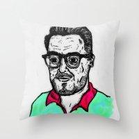 Selfy, Raúl Throw Pillow